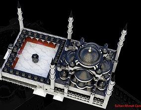 Blue mosque 3D print model