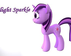My Little Pony TwilightSparkle 3D Model game-ready
