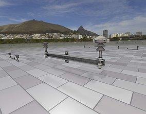 3D asset Electricity Poles Ceramic Insulators 2 - Object