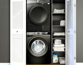 Laundry Black 3D model