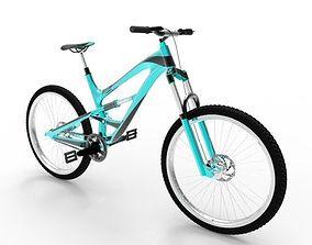 mountain bike 2 3D model