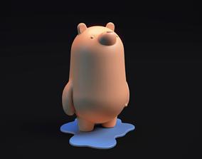 games-toys PolarBear Piggybank - 3d printable model