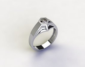 Live Ring 3D print model
