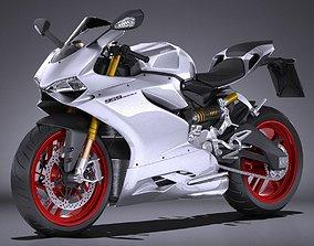 Ducati Panigale 959 2016 3D model