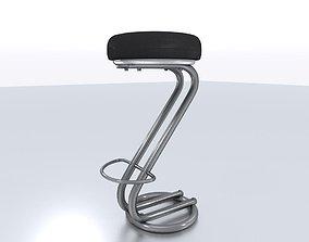 Barstool 3D asset
