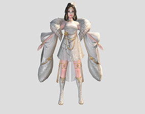 3D asset Angel Girl