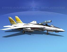 Grumman F-14D Tomcat T07a VF-32 3D