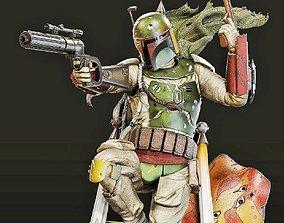 3D printable model Boba Fett from Star Wars babyyoda