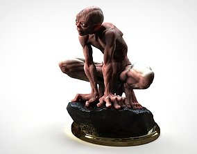 GOLLUM - THE HOBBIT - THE LORD OF THE 3D printable model