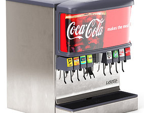 3D 8 Flavor Ice and Beverage Soda Fountain 02