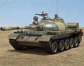 T-55 Tank 3D model