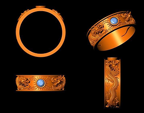 ring Dragon 3D printable model