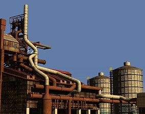 Ironworks Blast Furnace Plant revised edition 3D