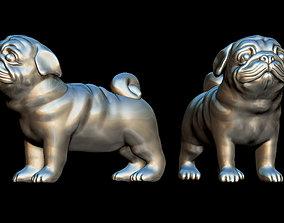 3D print model Pug dog