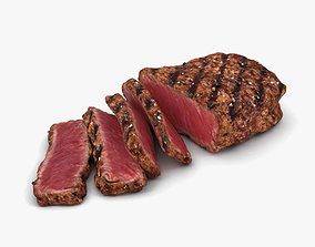 Medium Rare Steak 3D