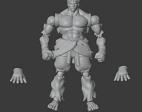 3D printable model KAGE SFV Articulated