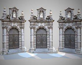 Architectural Entrance Door 3D model