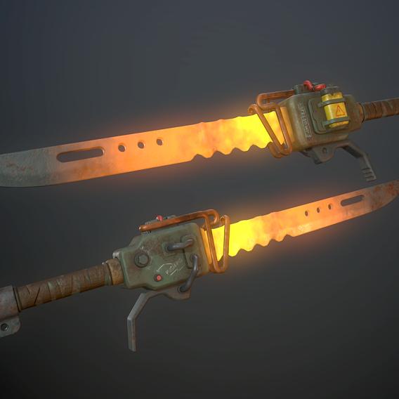 Heater sword