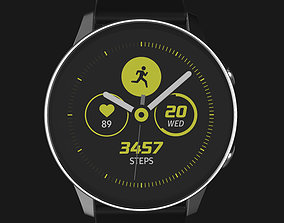 E3D - Samsung Galaxy Watch Active Black