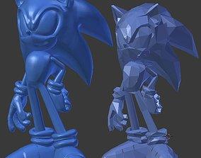 Sonic the Hedgehog Sculpt 21mb 3D print model