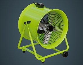 3D model Industrial Fan 1
