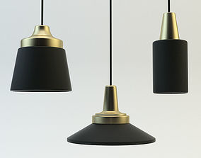 chandelier namuh bronz 3D