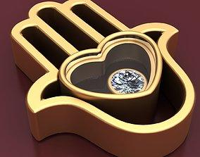 3D printable model Good Luck Gold Diamond