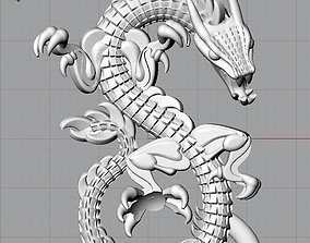 Model pendants dragon for 3D printing