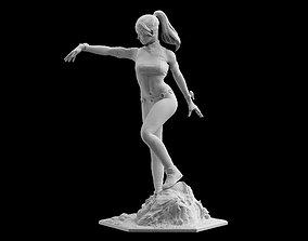 Mortal Kombat 11 Sonya Blade Statue 3D printing model