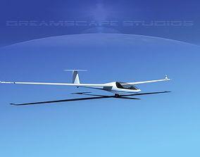 Glaser-Dirks DG-300 Glider V06 3D asset