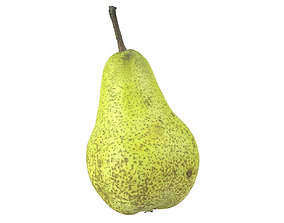 Photorealistic Pear 3D Scan 2