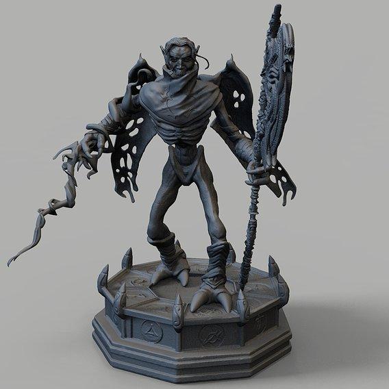 Raziel 3D print model
