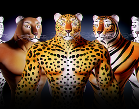 Fantasy Creature Isi-Agu - Male 3D model
