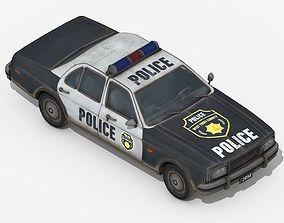 Police Car mopar 3D model game-ready