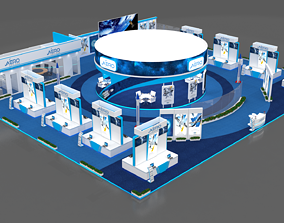 3D panel Exhibition Booth