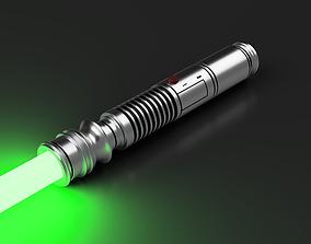 3D printable model Saesee Tiin Lightsaber Hilt -