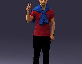 Man posed 0619 3D model