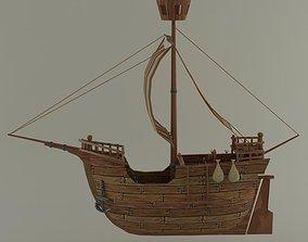 Spanish boat 3D