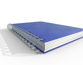 Notebook 3D model game-ready