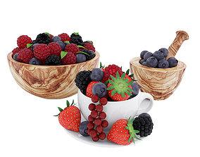 Berries 3D model