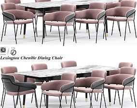 Lexington Chenille Dining Chair 3D