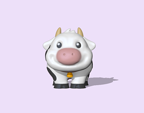 3D printable model A Cute Cow to decorate and play
