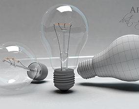 3D animated Lamp Light