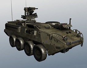 game-ready Stryker us 3d