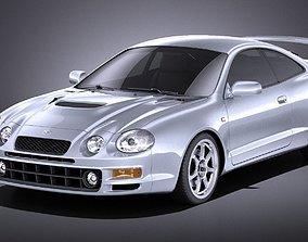 Toyota Celica GT-Four 1993-1999 VRAY 3D model