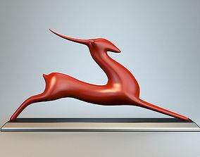 3D printable model Resting Antelope P