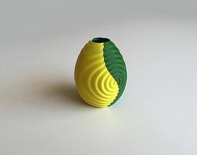Ripple Vase Dual Extrusion - 2 Color 3D print model