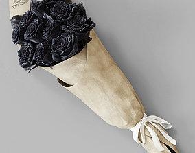 Blacks roses 3D