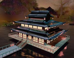 Chinese Traditional Architect 3D model