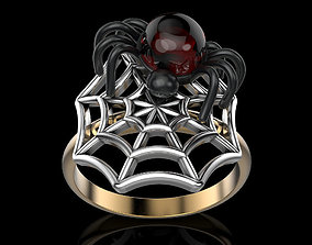 printing 3D print model Ring spider
